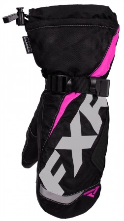 Fxr Child Helix Race Mitt Black/fuchsia