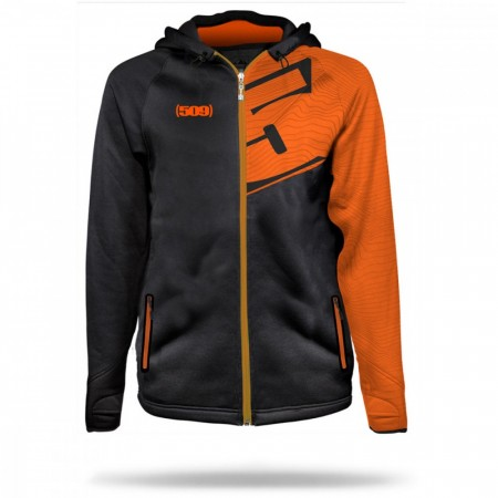 509 Tech Zip Hoodie Sort/Orange