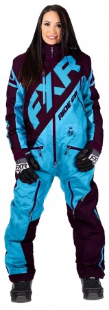 Fxr Cx Insulated Monosuit blue/plum