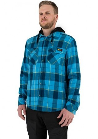 FXR Timber Hooded Flannel Shirt