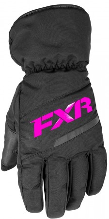 Fxr Youth Octane Glove Black/fuchsia