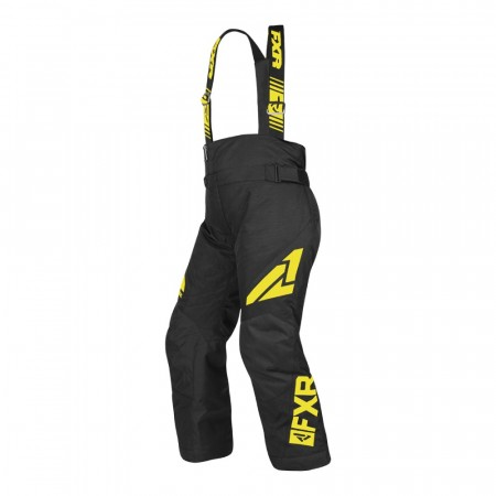 FXR Clutch Youth Bukse Sort/hi-vis